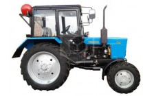 Gas diesel tractor MTZ Belarus-82 produced by BMZ Plant